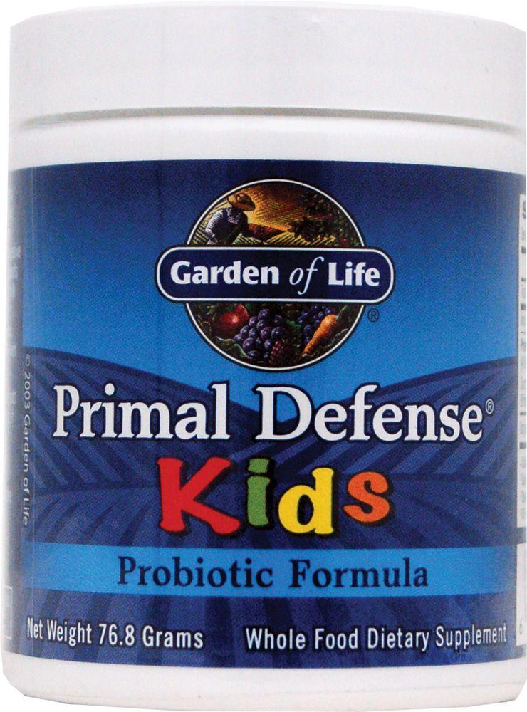 Garden Of Life Primal Defense Kidsprobiotic Formula Vitacost Bebox Healthy Digestive Tract Prebiotics And Probiotics Live Probiotics