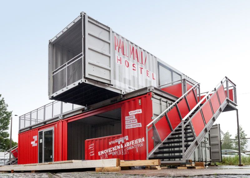 Pall Mall Hostel   CONTAINER-MANUFAKTUR BERLIN   D, Germany ...