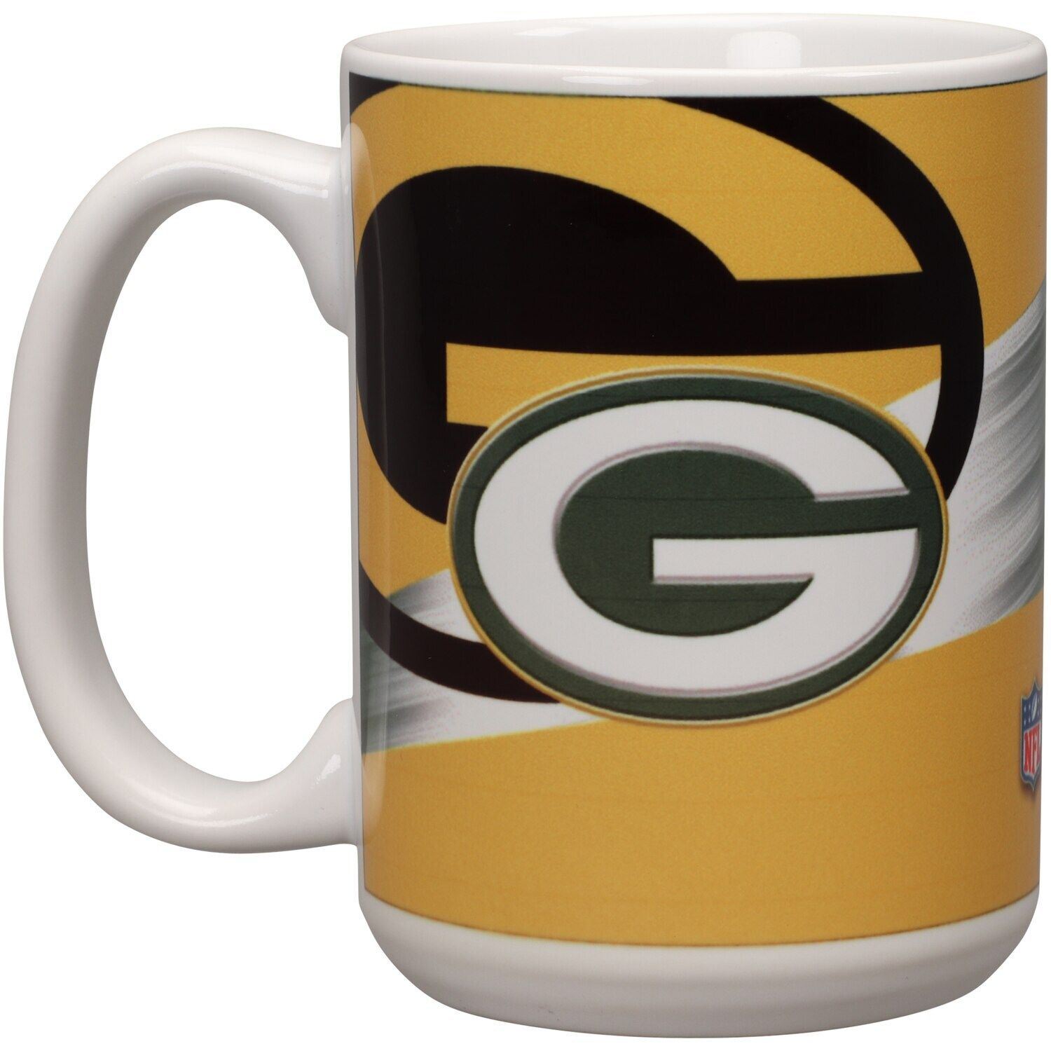 Green Bay Packers 15oz Team 3d Graphic Mug In 2020 Mugs Green Bay Green Bay Packers