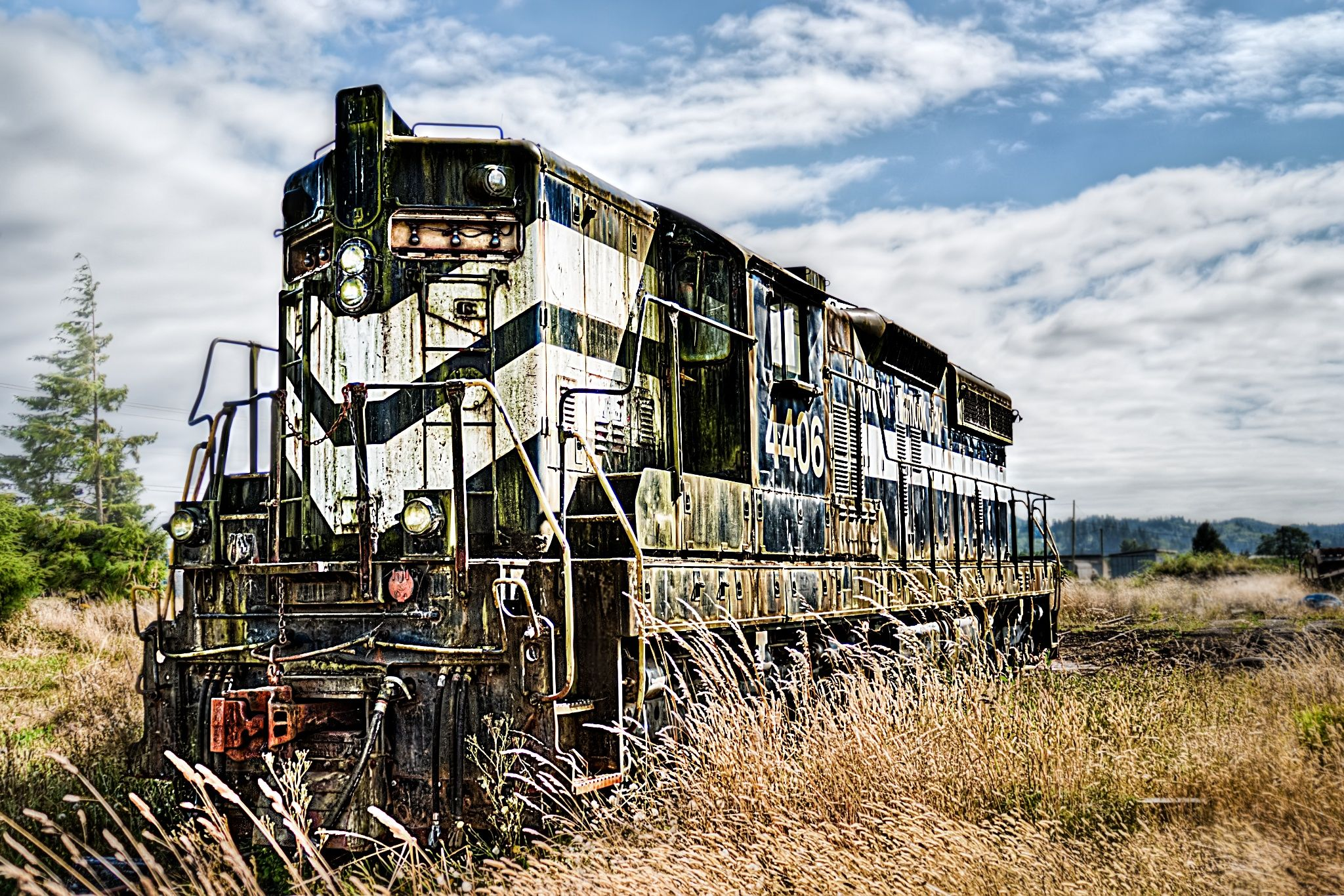 Out To Pasture by Ryan J. Zeigler on 500px Old trains