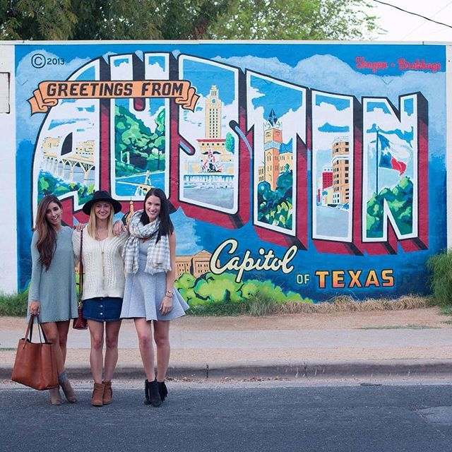 """""Greetings from Austin, TX y'all! We're excited to show off the Live Music Capital of the World on LTK's Instagram account today. Follow along as @dtkaustin, @thedarlingdetail and @livvylandblog show off our favorite hot spots in Austin for #LTKTakeoverTuesday! 