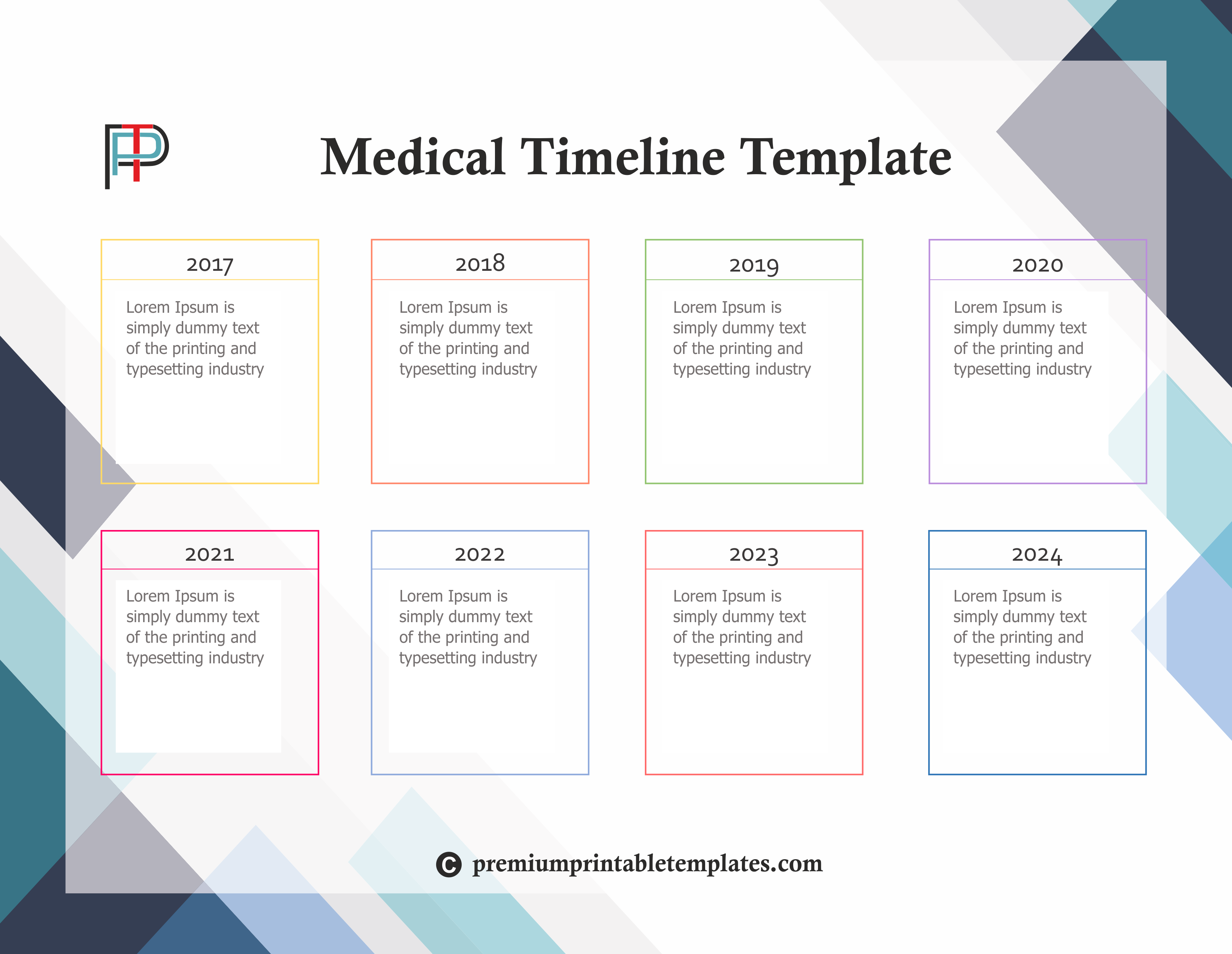 Medical Timeline Template Known For Timeline Of Hospitals And Any