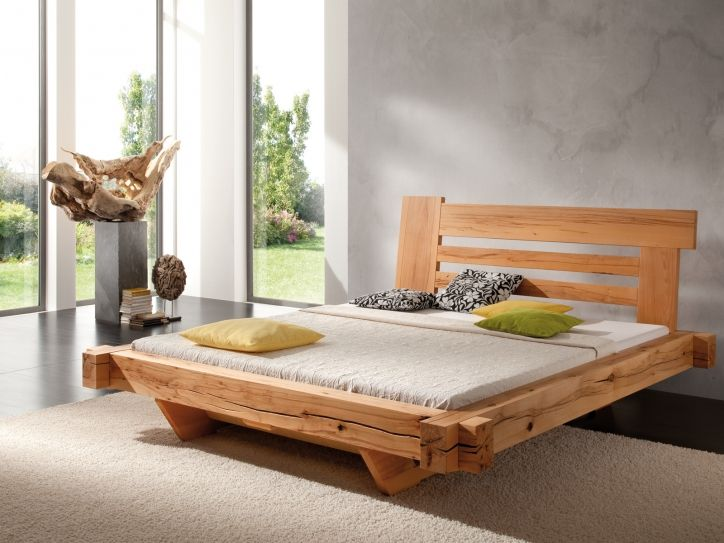 BALKENBETT Relax - modern wood bed designs | wood bed in ...