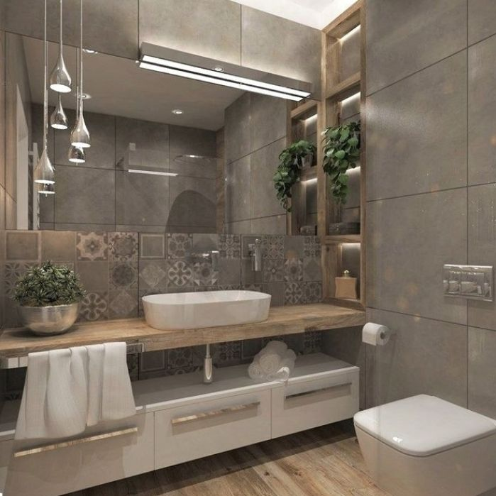 Photo of 37 Awesome Small Master Bathroom Makeover-Ideen. Als Ergebnis der Essenz des Bad… – 2019 – …