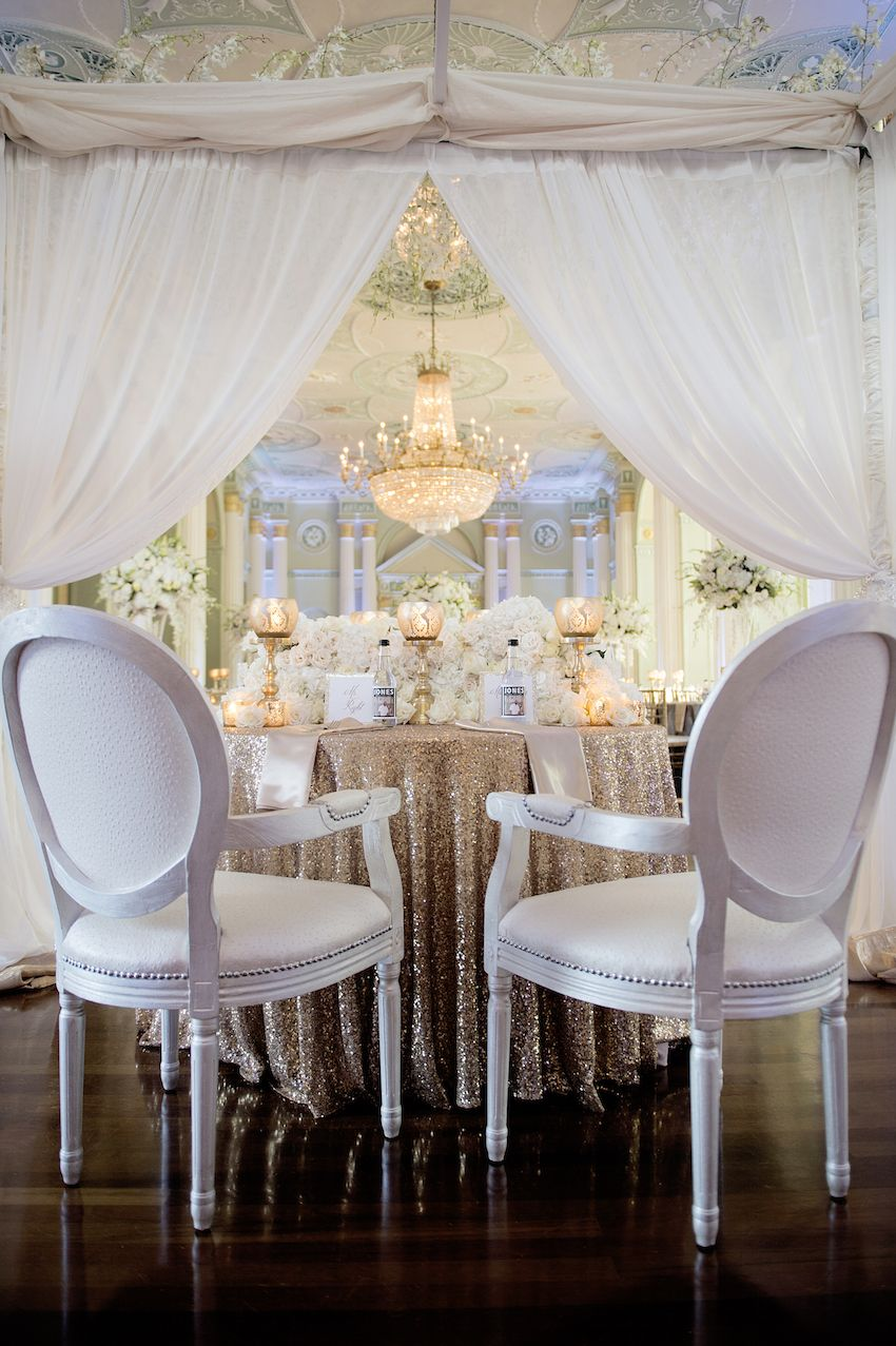 enchanting kitchen table centerpiece ideas | Enchanting Décor Ideas for Your Sweetheart Table ...