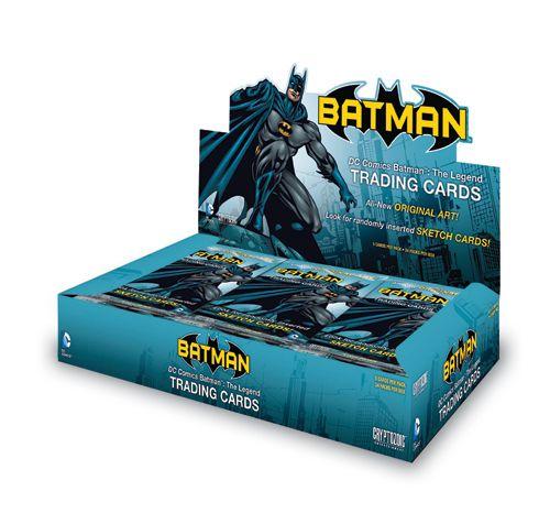 DC Comics Batman: The Legend Trading Cards