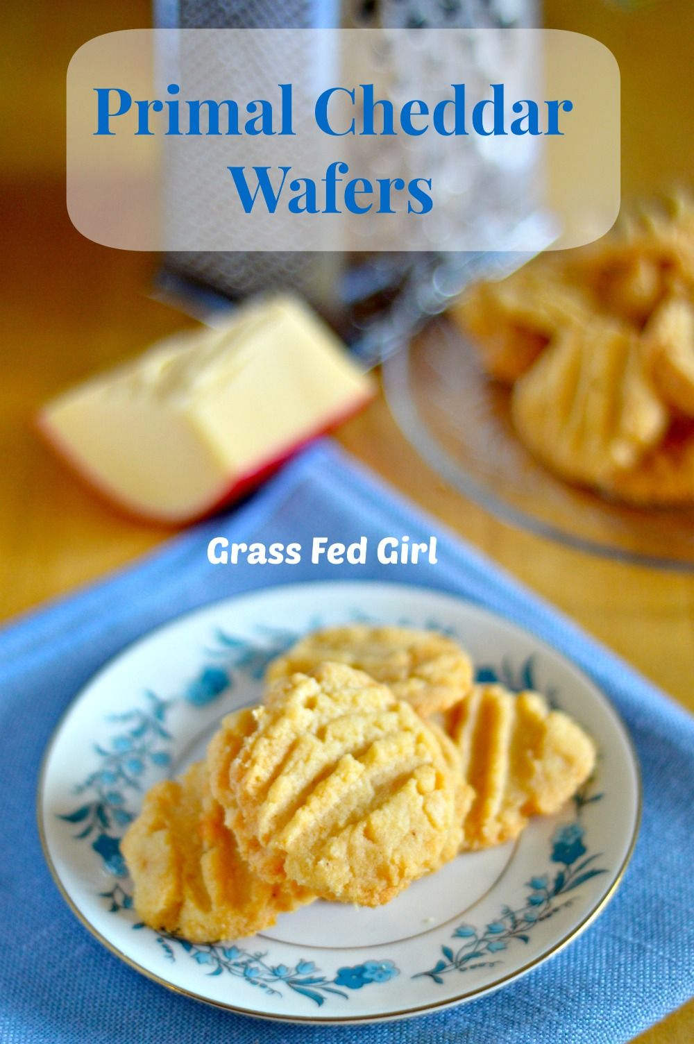 Crunchy Grain And Gluten Free Primal Cheese Cracker Recipe Paleo