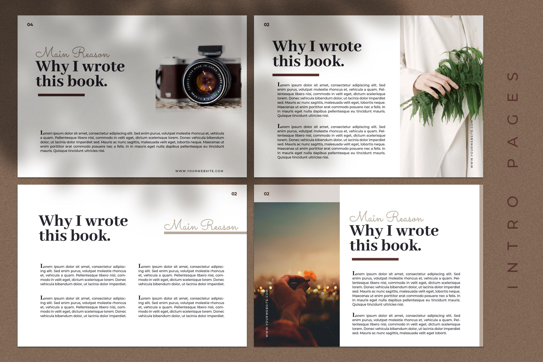 CANVA Modern eBook Templates Ebook template, Templates