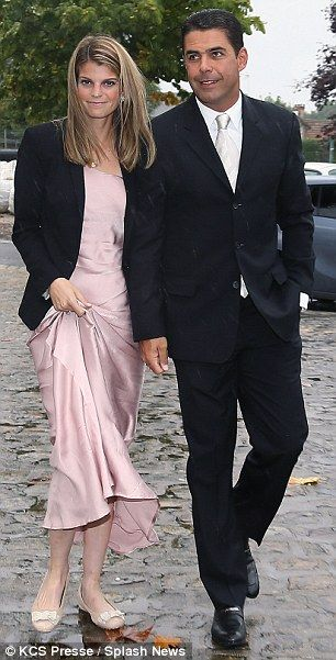 Athina Onassis makes a rare public appearance at a family wedding