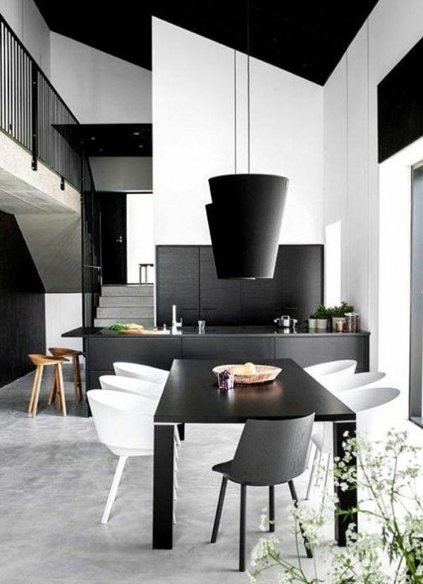 Esszimmertische für ein modernes Esszimmerambiente - frische Ideen
