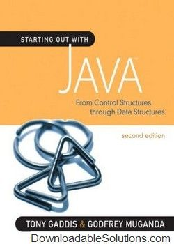 Test bank for starting out with java from control structures through test bank for starting out with java from control structures through data structures 2nd edition gaddis download answer key test bank solutions manual fandeluxe Gallery