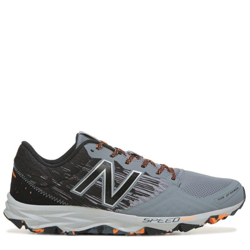 71e179817fe8 New Balance Men s 690 Medium X-Wide Trail Running Shoes (Grey Orange)