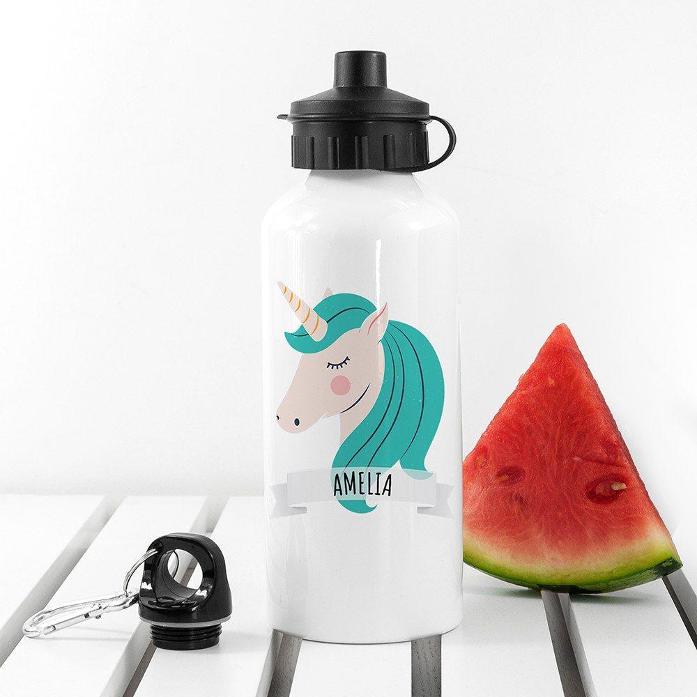 Personalised Sparkle Squad Water Bottle Unicorn water