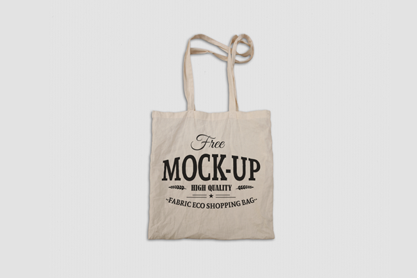 Download Free Fabric Eco Bag Mockup On Behance