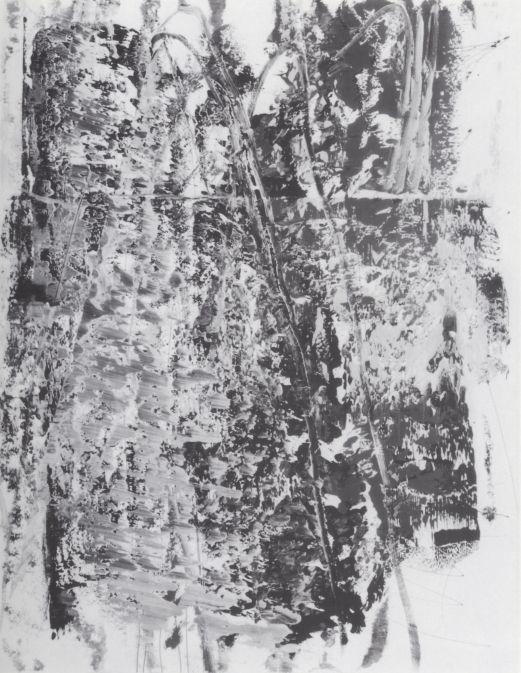 Gerhard Richter, Ohne Titel (8.4.86) Untitled (8.4.86), 1986, 125 cm x 97 cm, Oil on paper