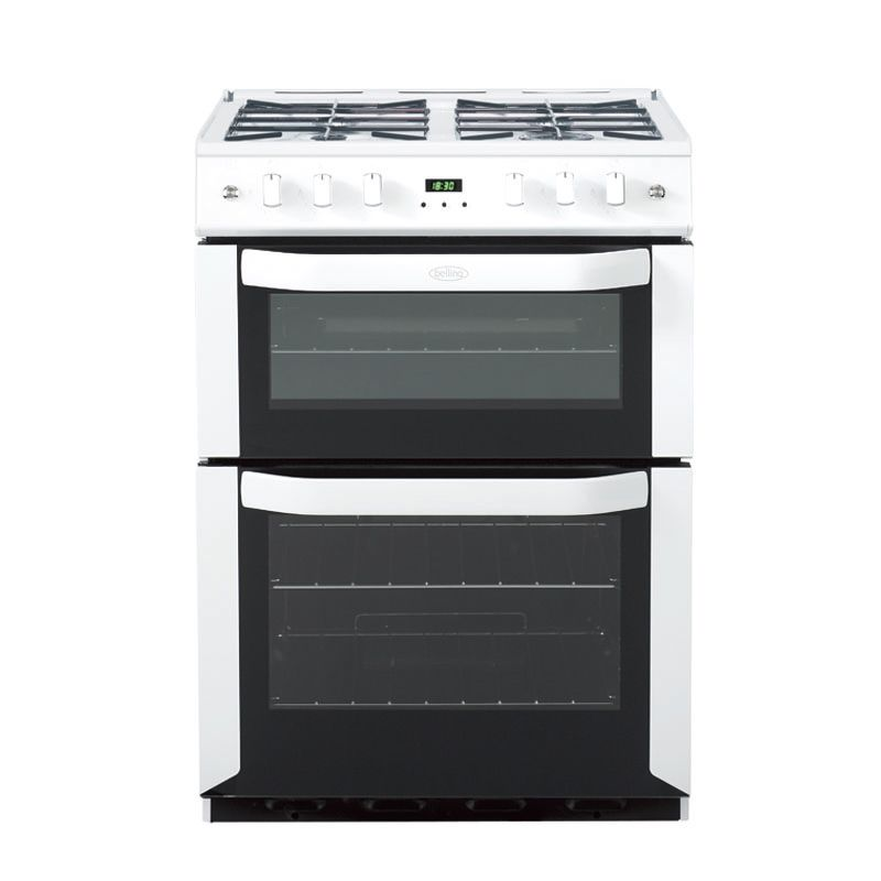 Freestanding 60cm gas cooker with fanned oven - white, LPG #Belling #UKmade  #