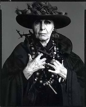 LOUISE NEVELSON by WMHART, via Flickr