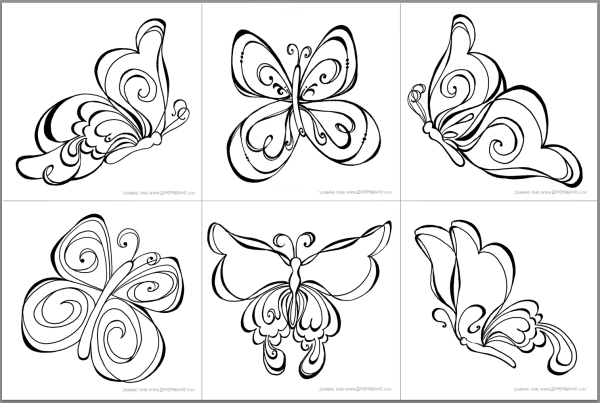 Resultado De Imagen Para Dibujos Para Pintar De Princesas: Resultado De Imagen Para Zenspirations