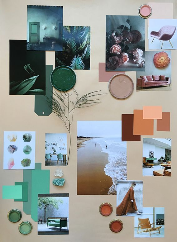 Mood boards: How to translate a color trend into a mood ...