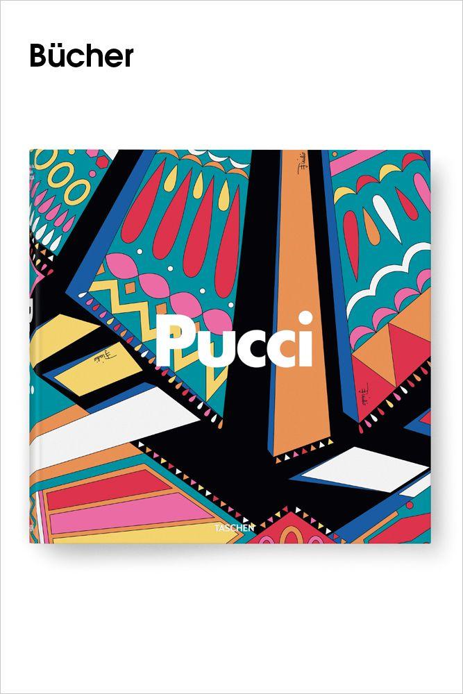 TASCHEN •     Der Prinz der Prints.  Emilio Puccis Vision und Vermächtnis.    Emilio Pucci (1914–1992) besaß visionäres Stilempfinden, den Blick des Ästheten für Farbe und Design und eine große Leidenschaft für Frauen. Mit ihm hielten frei fließende, leichte Stoffe, Pop-Art-Designs und eine neue Farbpalette Einzug in die Damenmode. Caprihosen, Seidenschals und luftige Kombinationen machten seine Boutique auf Capri in den frühen...    Bilderserie anzeigen…