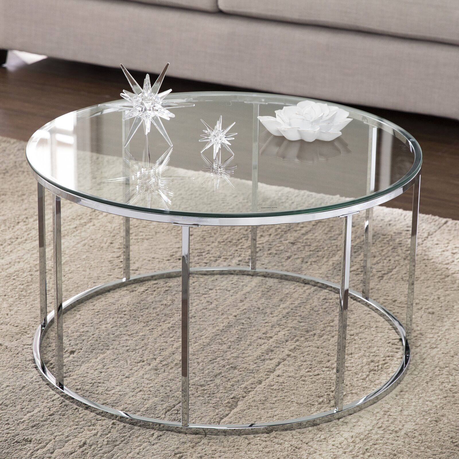 Ebern Designs Joseph Coffee Table Wayfair Round Coffee Table