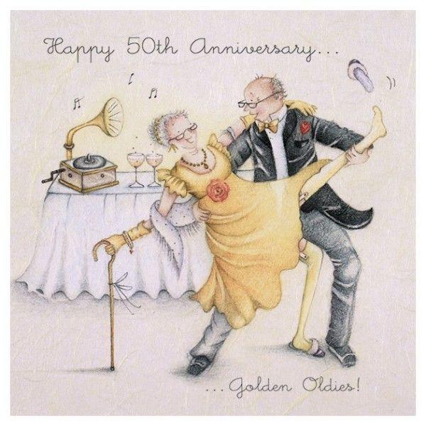 ʖ I Happy 50th Anniversary Wedding Anniversary Cards 50th Anniversary Cards