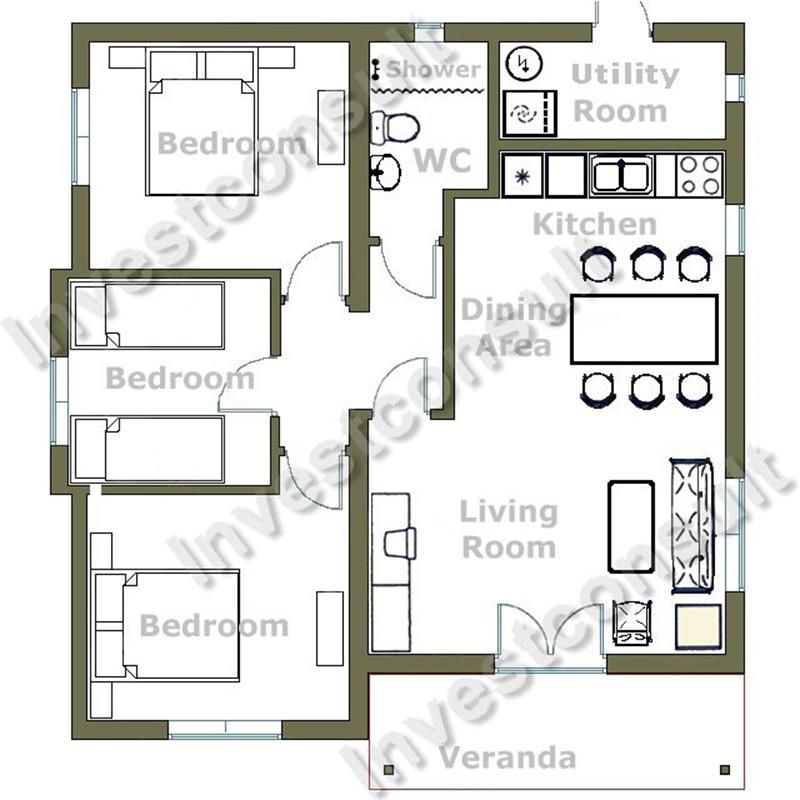 28 Best Bedroom Home Plan Design House floor plans