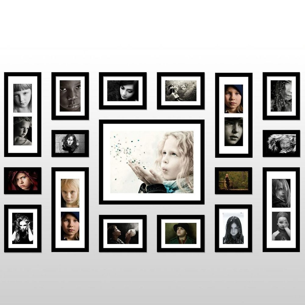 Attrayant US Stock New Black Multi Picture Photo Frame 12 Pieces Wall Frames Set  Family #Friendsafe