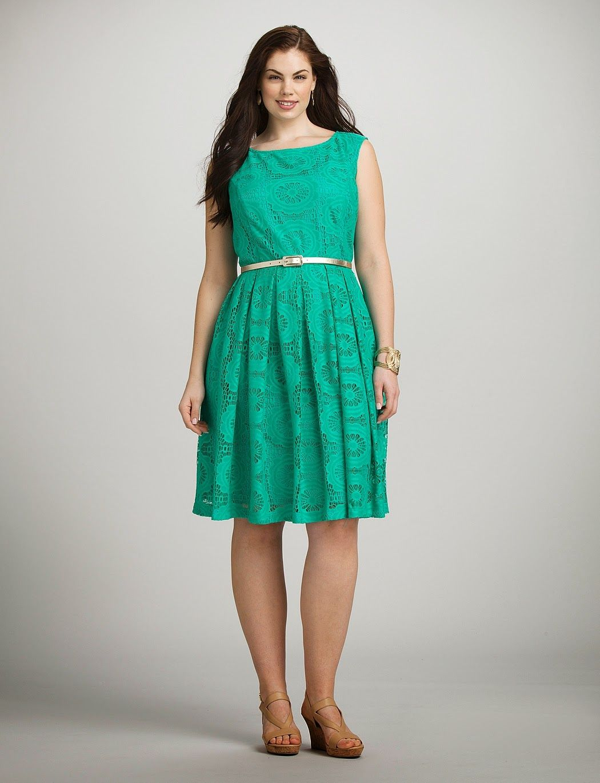vestidos de encaje para gorditas | Colección | Moda | Pinterest ...