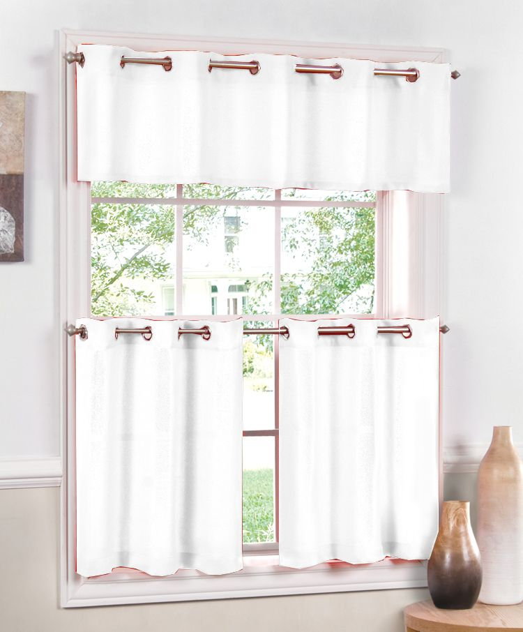 Jackson Grommet Curtains Style Your Window With A Casual Small Scaled Weave Of Shinney Dull Yarns Creating Subtle Textured Fabric Valances