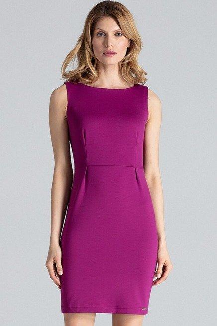 Dopasowana Sukienka Mini Bez Rekawa Klasyczna Sukienki Shop High Neck Dress Dresses Fashion