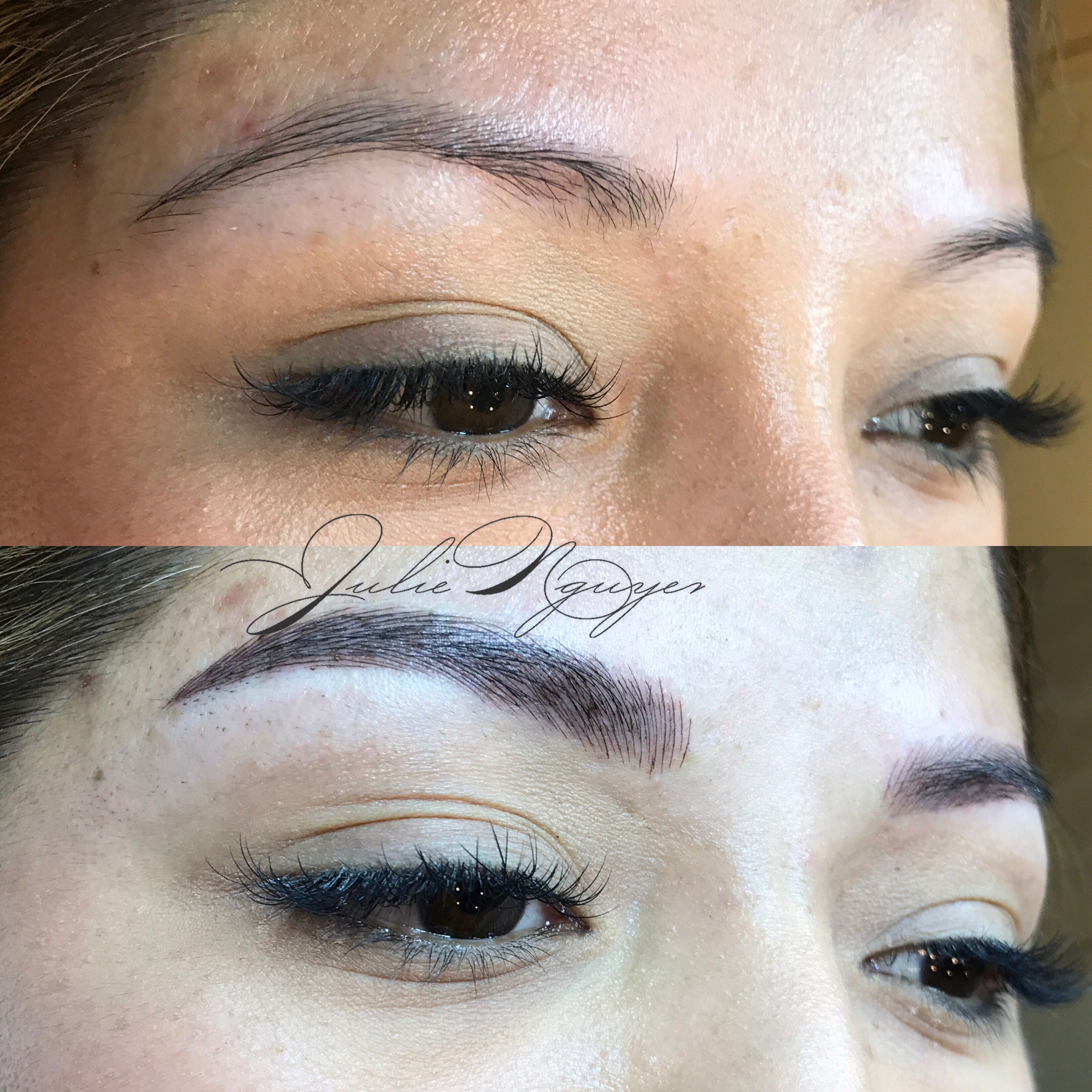 Microblading by Julie Nguyen