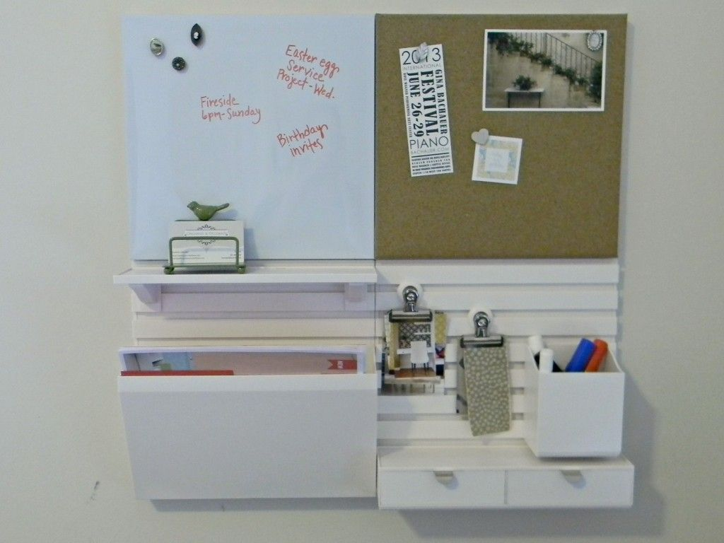 Bust Of Create Your Own Wall Organizer For Office