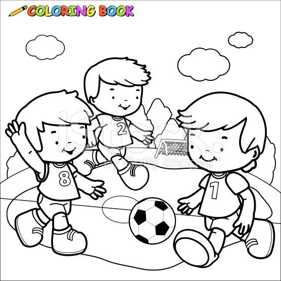 Vector Illustration of a black and white outline image of three...