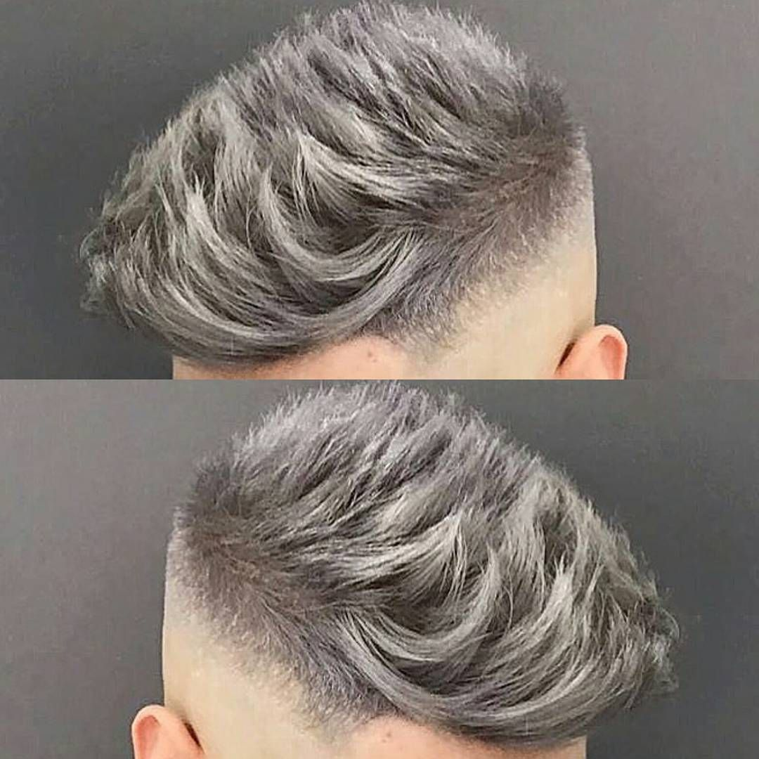 3 760 Likes 20 Comments Mens Hair Styles Amp Beards Menshairworld On Instagram Jose The Barber 10 Love Men Hair Color Grey Hair Men Grey Hair Dye