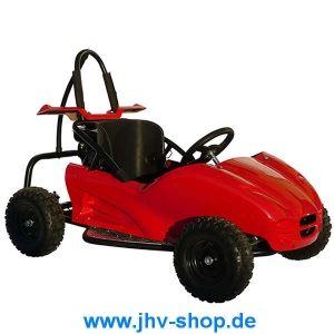 Quad, Buggy, Bikes, Trikes,Kinderquadbahn,  Eventartikel und mehr - Kinder GoKart Buggy SQ80GK-2 80cc mit Verkleidung Fiberglas rot