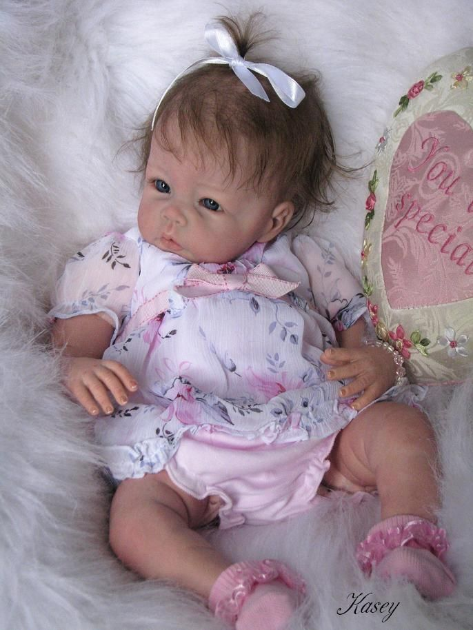 adorable reborn baby girl newborn baby dolls pinterest. Black Bedroom Furniture Sets. Home Design Ideas