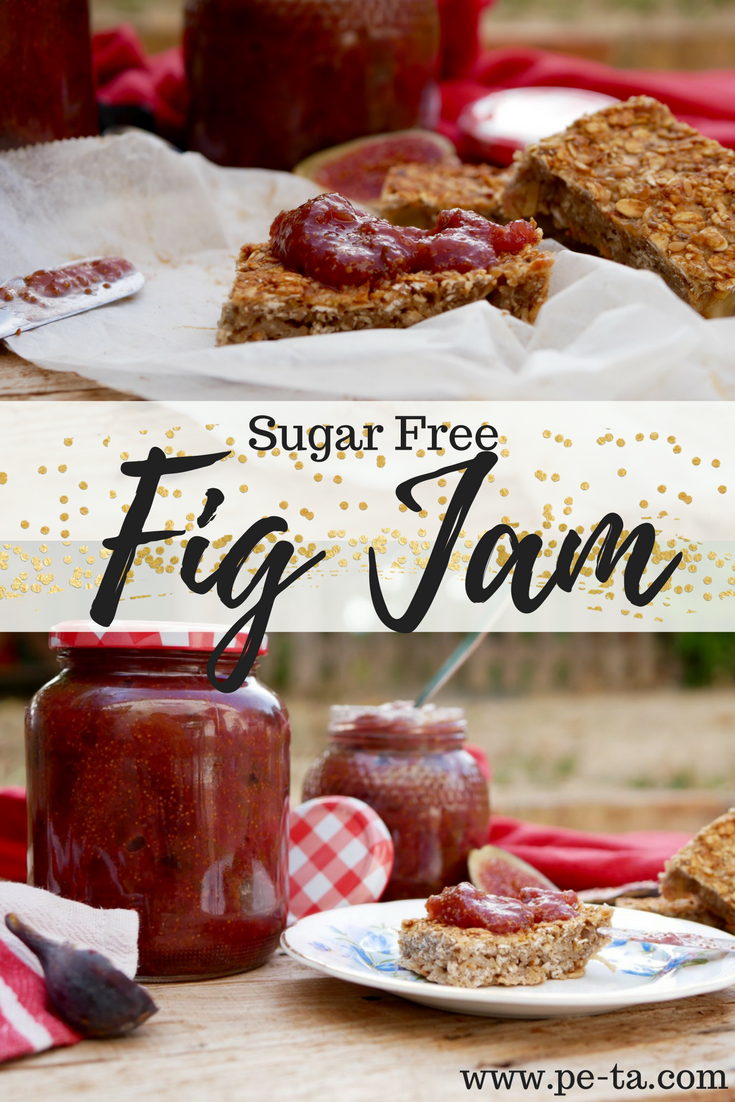 Sugar Free Fig Jam Recipe Wow Food Group Board Pinterest Ta With No Added