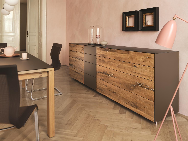 Design Trifft Natur Team7 Eiche Mit Farbglas Team7 Design