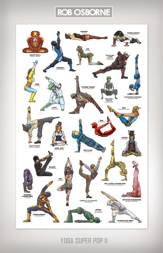 Yoga Super Pop Super Collected Edition 1 And 2 11x17