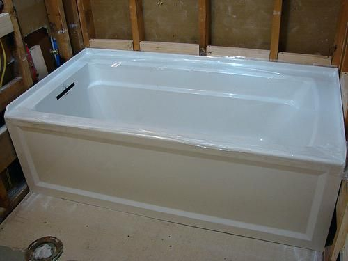 Great Deep Soaking Tub On Bathroom With Soak Bathtub Drain A ...