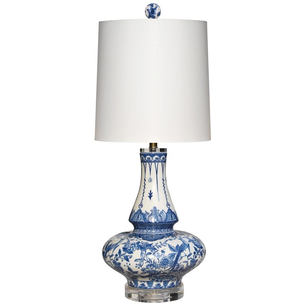 Yulin Blue And White Porcelain Table Lamp 32x14 Lamps Plus In 2021 Lamp Painting Lamps Table Lamp