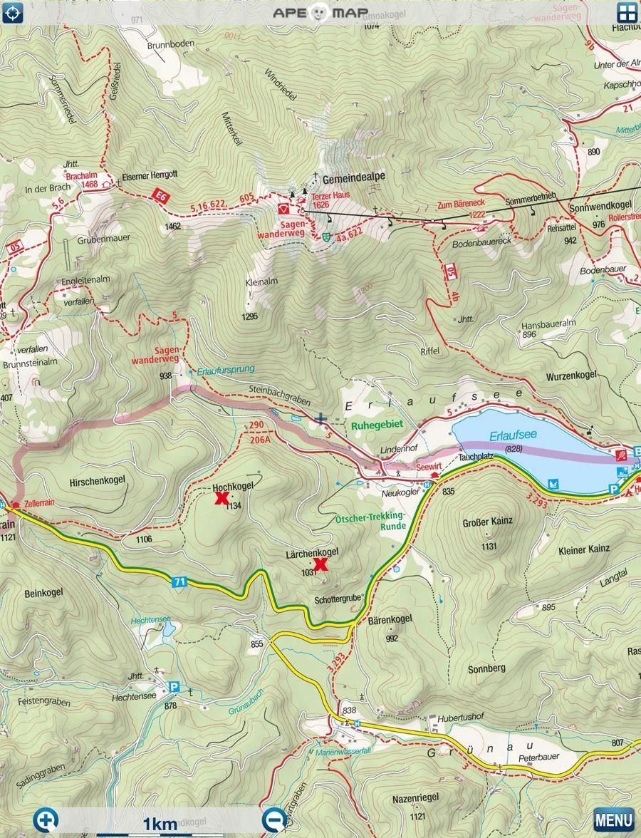 Hochkogel 1134 M 8211 Larchenkogel 1031 M 8211 Erlaufsee Landschaft Blog Erste Autos
