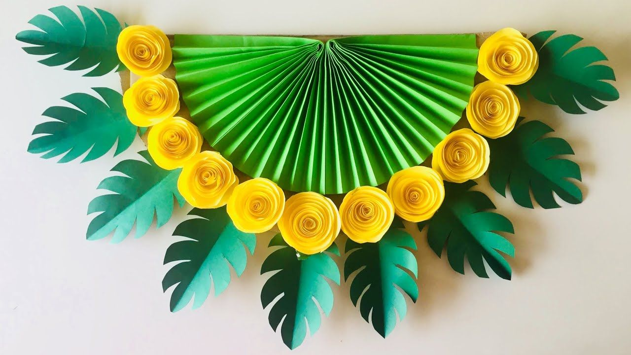Wall Decoration Ideas Diy Hanging Paper Craft You