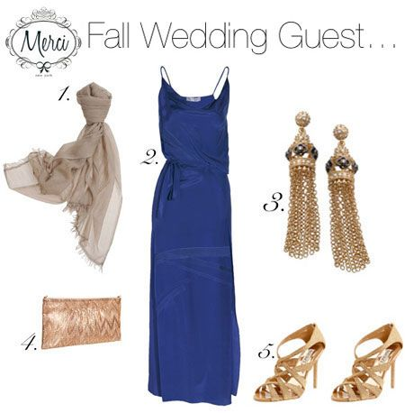 What To Wear A Formal Fall Wedding Merci New York Jacqueline Weppner