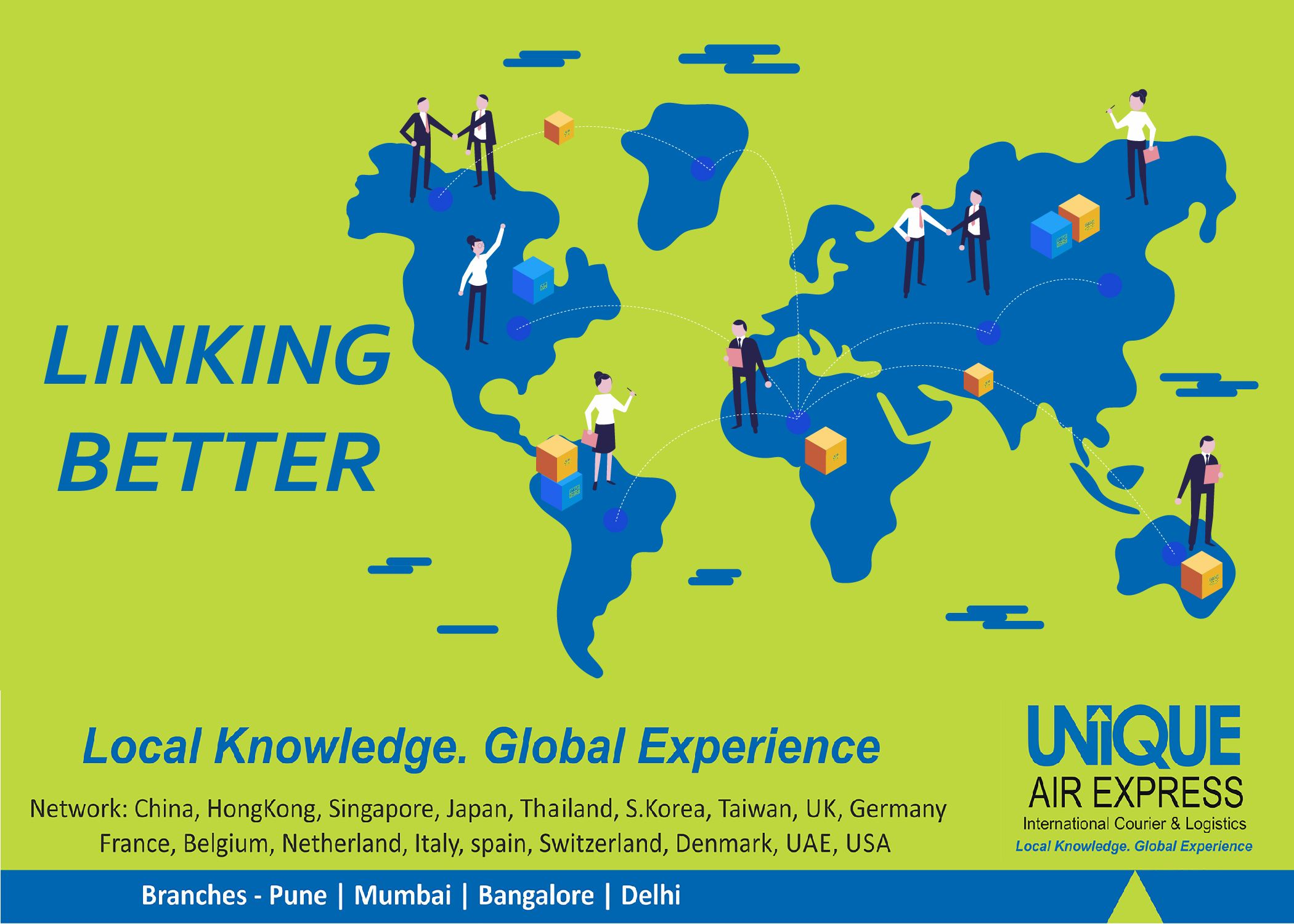 Linking Better! We link the world providing best services