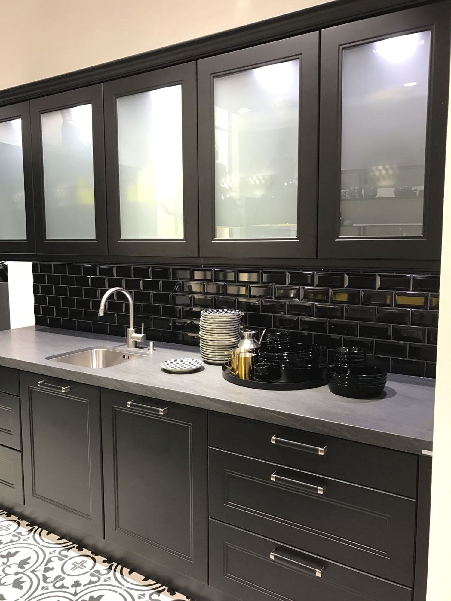 ideas on installing the best frosted glass cabinets in your kitchen in 2020 glass kitchen on kitchen cabinets with glass doors on top id=86926