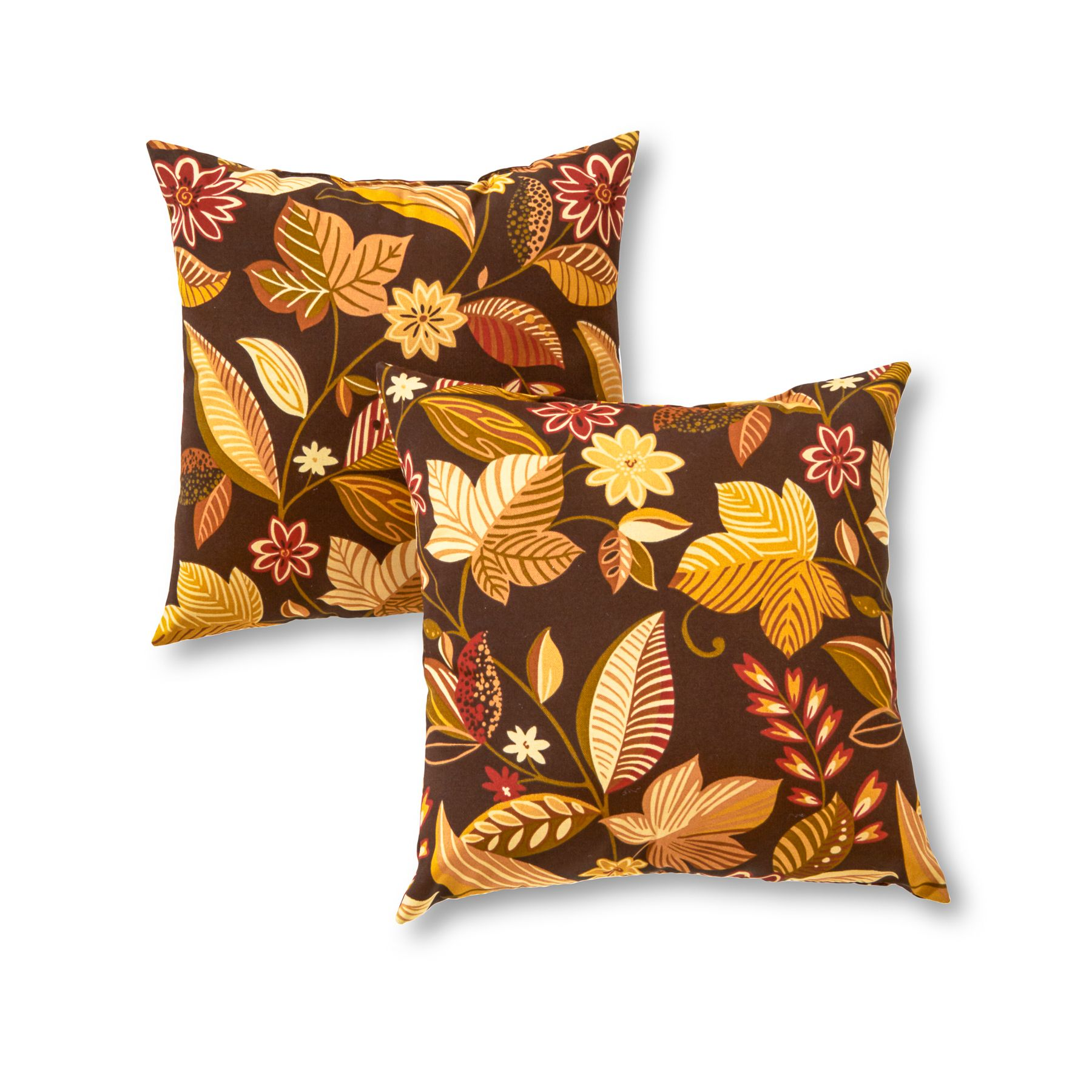 Greendale Home Fashions 17 X 17 Outdoor Accent Pillows Set Of