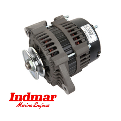 Indmar ALTERNATOR 70AMP W/V-PULLEY Only different with ... on