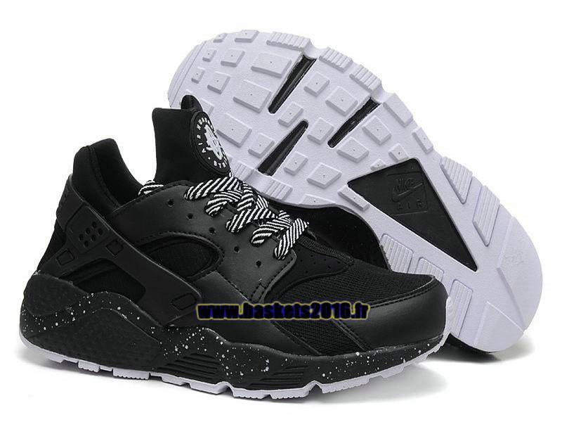 Nike Air Huarache 1 Chaussures Nike Officiel Prix Pas Cher Pour Homme White Point  - Noir